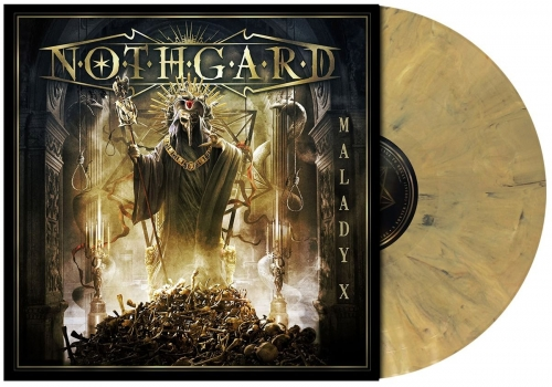 MALADY X - LTD. Dead Gold Vinyl - Brand new album!